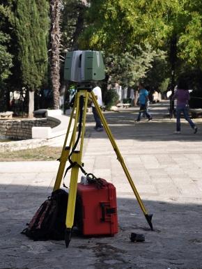 giorno 2 - laser scanner 3D